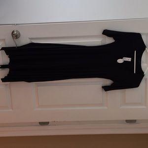 LAmade Black tie dress